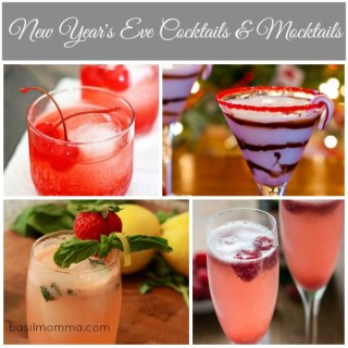 Easy New Year's Eve Cocktails and Mocktails