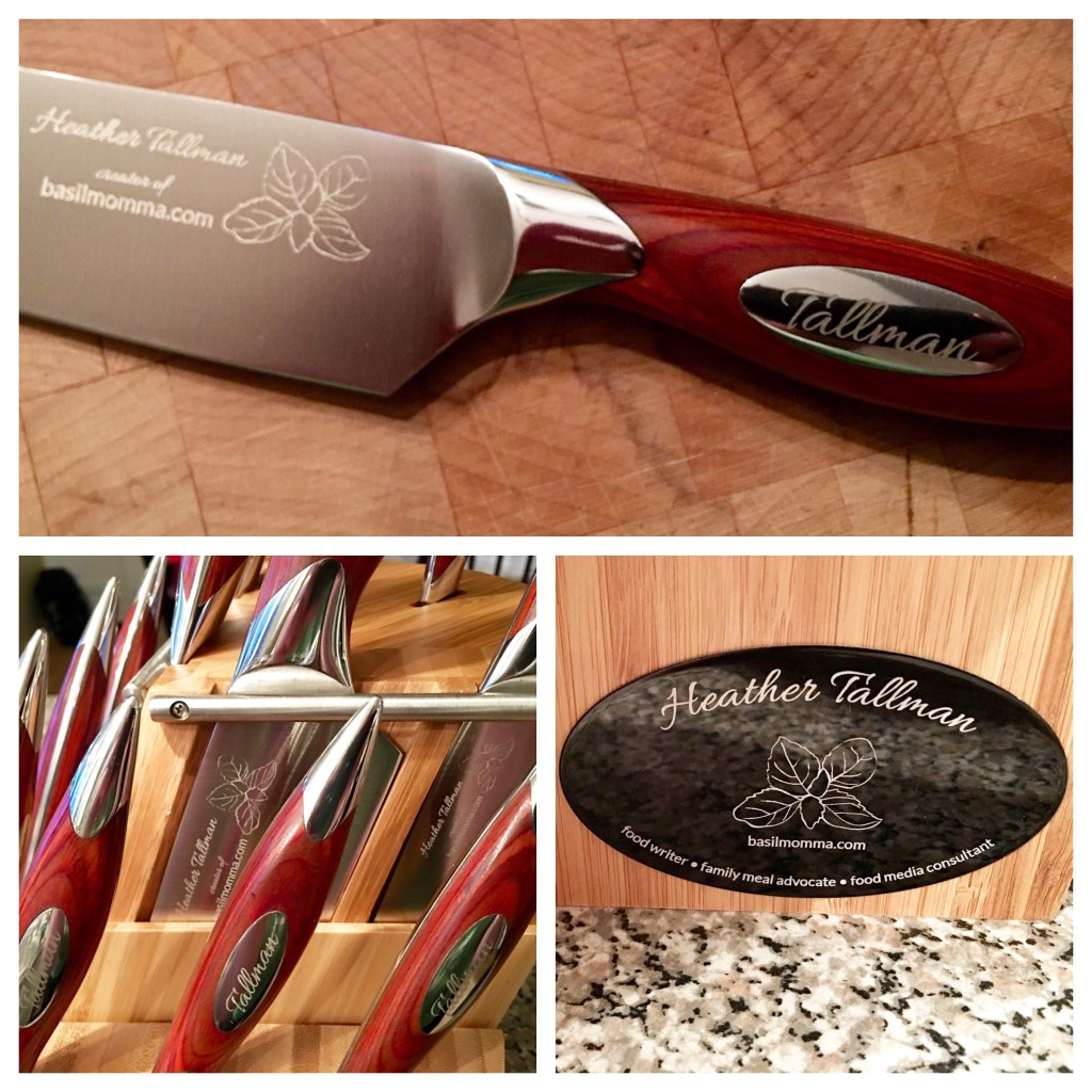 Personalized knives from Longlife Cutlery