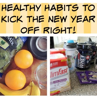 Healthy Habits to Kick the New Year Off Right!