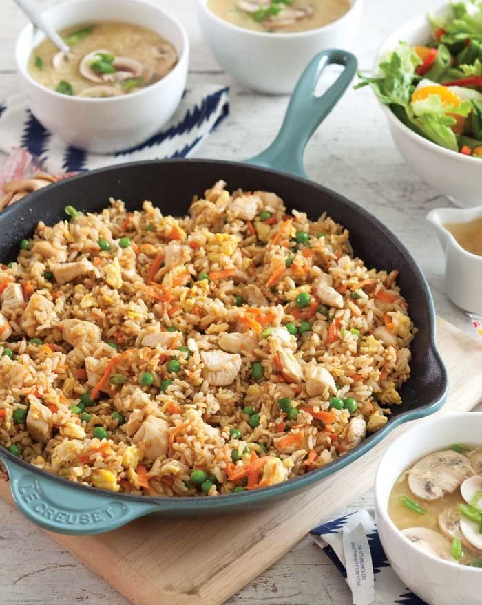 Chicken Fried Brown Rice from Southern Plate - Just one of the healthy ...