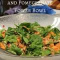 Bacon, Sweet Potato and Pomegranate Power Bowl