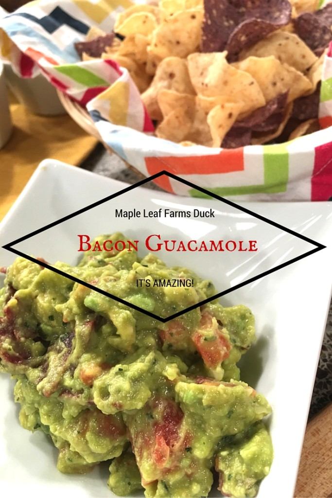 Duck Bacon Guacamole Recipe \\ Basilmomma.com