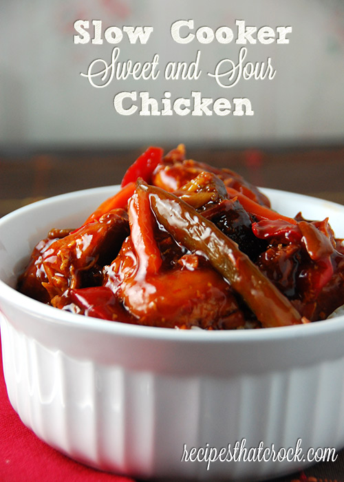 Slow Cooker Sweet and Sour Chicken at $1.39 a serving form Recipes ...