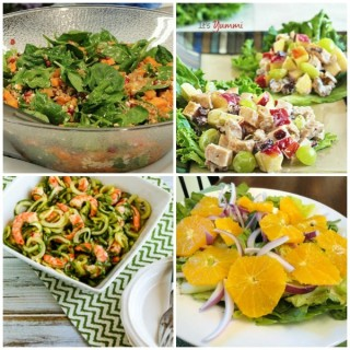6 Healthy Dinner Salads That are Almost Too Pretty To Eat