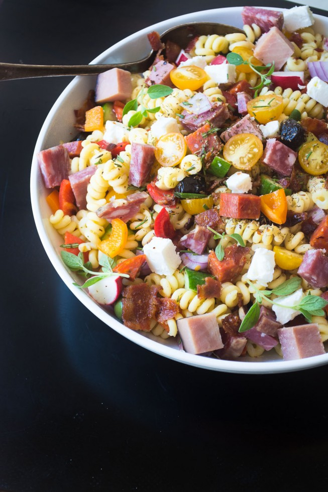 Healthy dinner salads don't get more gorgeous or tasty than this meat lover's salad from The View From Great Island.