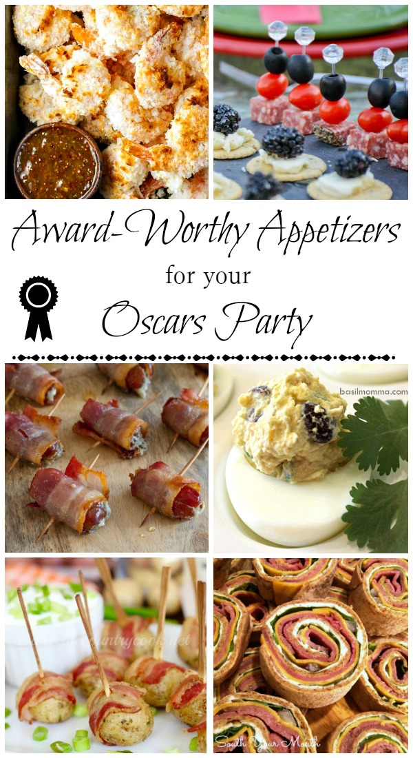 Oscars Party Appetizer Recipes - These are some of the easiest and most affordable appetizers. They look fancy, but they don't cost a lot to make. Get the collection on basilmomma.com