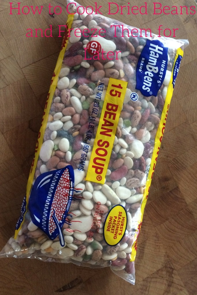 How to Cook Dried Beans and Freeze Them for Later