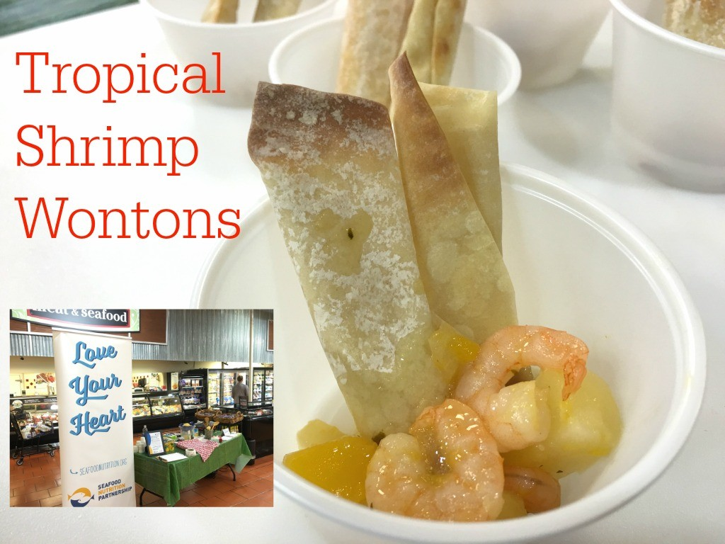 Tropical Shrimp Wontons