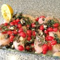 Greek Chicken Bake Recipe, from basilmomma.com