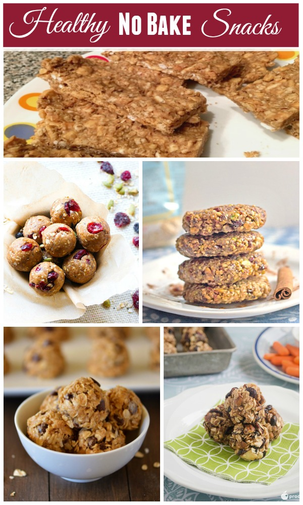 5 Healthy No Bake Snacks That You'll Want to Make Right Now! \\ See the recipe collection on basilmomma.com