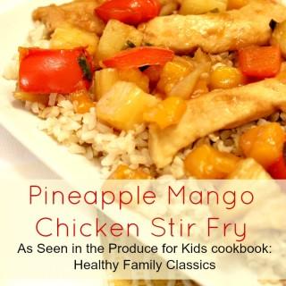 Pineapple Mango Chicken Stir Fry