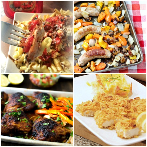 7 Sheet Pan Dinners That Your Family Will Love! - Get the recipes on basilmomma.com