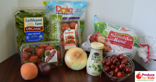 Healthy Kid Friendly Meals can be made with ingredients from Meijer.