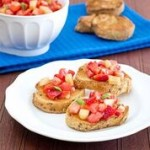 Berry Melon Bruschetta - kid friendly meals from Produce for Kids