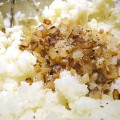 Caramelized Onion Mashed Potatoes Recipe - The perfect comfort food side dish! Get the recipe from basilmomma.com
