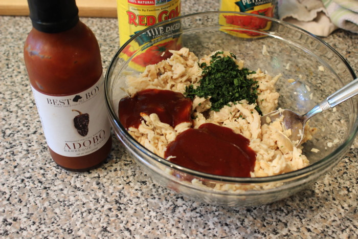 I used Best Boy & Co Adobo BBQ sauce in this recipe.