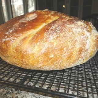 Rosemary Lemon Bread {No-Knead Recipe}