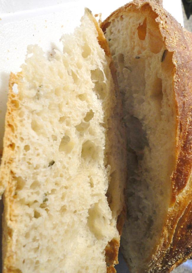 The best no-knead bread recipe ever! Homemade Rosemary Lemon Bread - No kneading necessary!