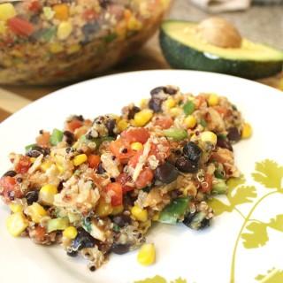 Southwest BBQ Chicken Quinoa Salad