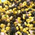 Blueberry Sweet Corn Salsa - Recipe from @basilmomma on basilmomma.com