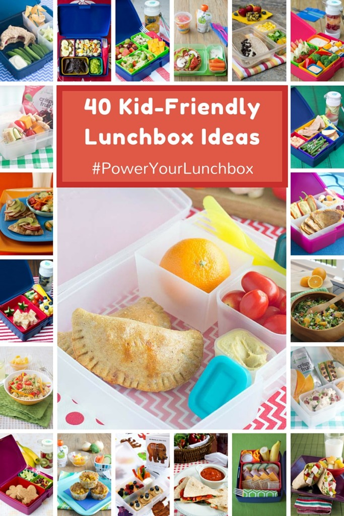 Healthy Kid-Friendly Lunchbox Recipes and Meal Ideas from @produceforkids and @basilmomma - See them all and take the Power Your Lunchbox Pledge at basilmomma.com