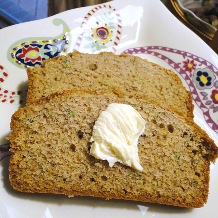 My mom Susan's zucchini bread is one of the best easy quick bread recipes ever! - Get the recipe on basilmomma.com