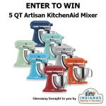 Win a Kitchenaid Mixer