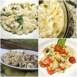 Creamy Risotto Recipes {National Rice Month}
