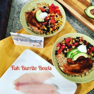 Fish Burrito Bowls