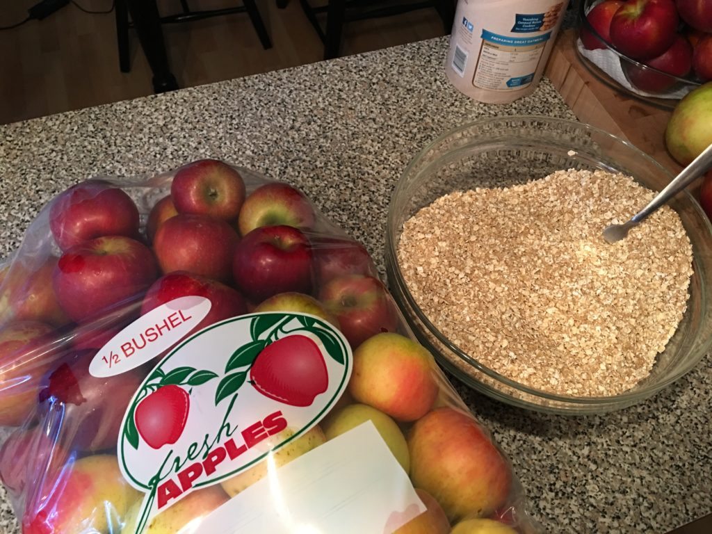 Quick and Easy Apple Crisp