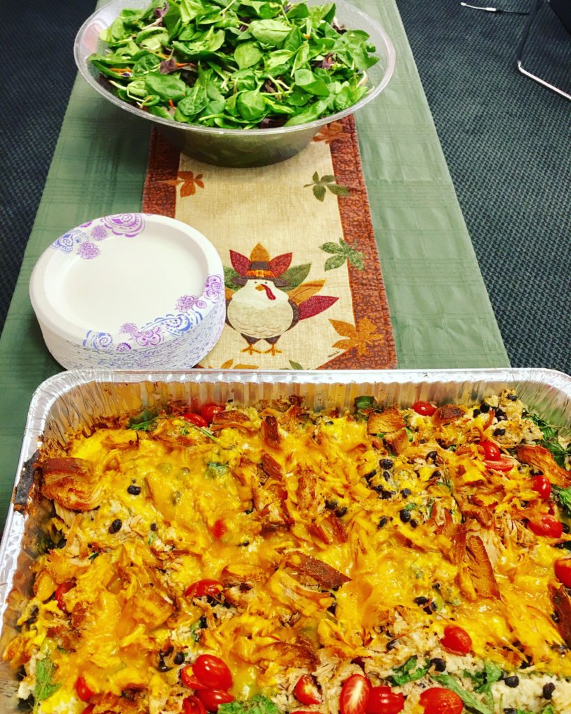 Southwest Turkey and Rice Casserole