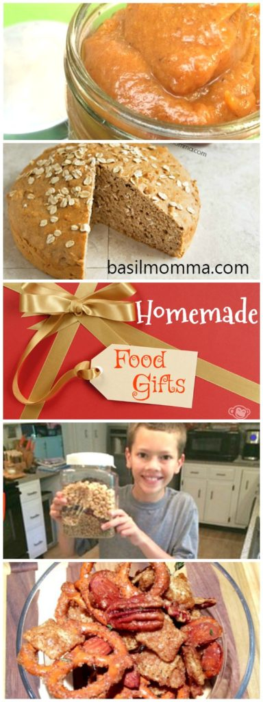 Homemade Food Gifts for the Holidays - Quick and easy recipes for food gifts that you can make and give as holiday gifts! | basilmomma.com