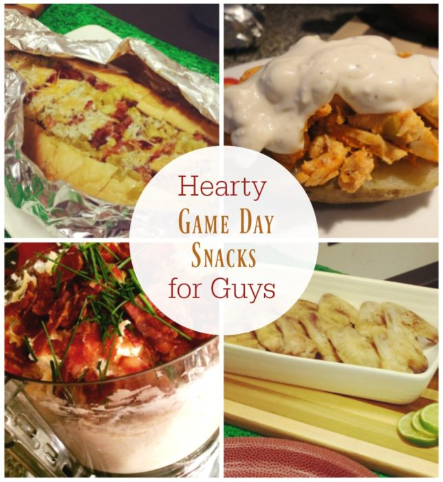 7 Quick and Easy Game Day Snacks that Guys LOVE! | Basilmomma.com