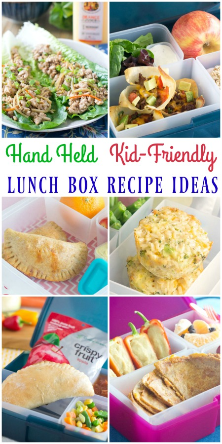 Hand Held Lunch Box Recipe Ideas | basilmomma.com