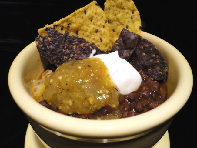 Crock Pot Chorizo Black Bean Soup - Basilmomma