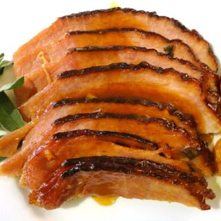 Tangerine Glazed Ham Recipe