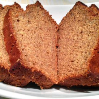 Healthier Banana Bread (made with agave)