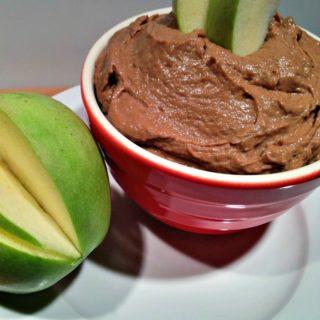 Healthier Chocolate Peanut Butter Dip