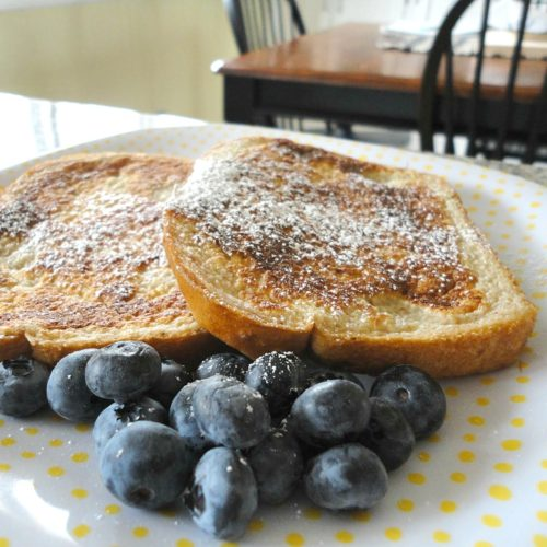 A delicious and easy recipe for classic French toast, plus 3 creative ways to make it healthier, by adding healthy ingredients to the batter. See them here!