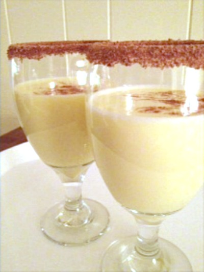 This eggnog recipe is one that's been in my family for years. It's a traditional Christmas drink that you can serve with or without alcohol added.
