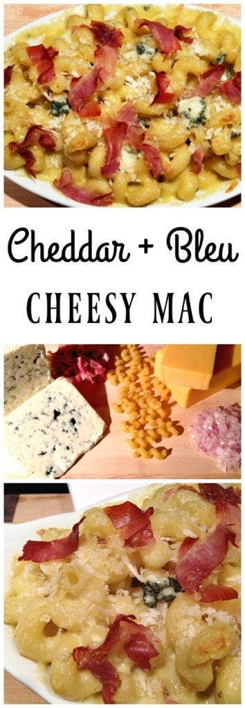 Bold Blue Cheesy mac, macaroni and cheese, mac and cheese, or hot cheese. What do you call it? There are so many names for the family friendly comfort food! | basilmomma.com