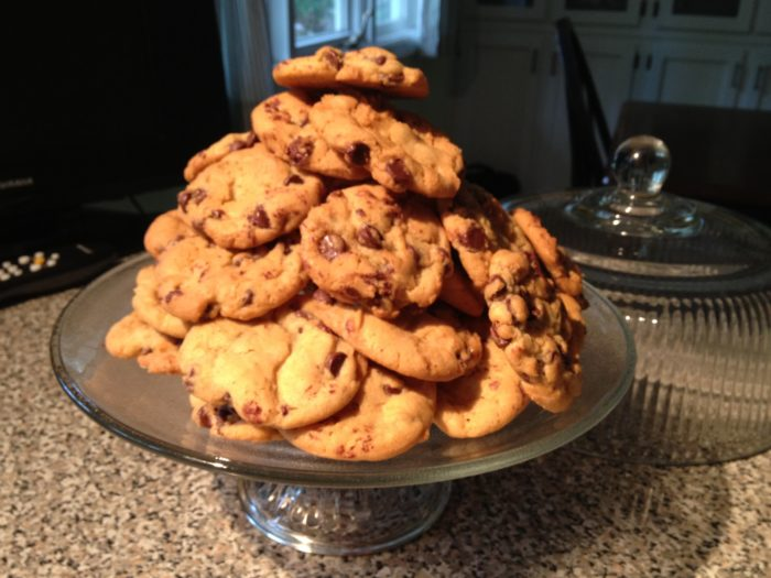 Blue Ribbon Chocolate Chip Cookies - the best chocolate chip cookies I've ever eaten, and the recipe won a blue ribbon!