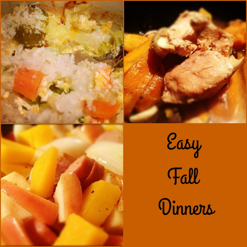 3 Easy Fall Dinner Recipes