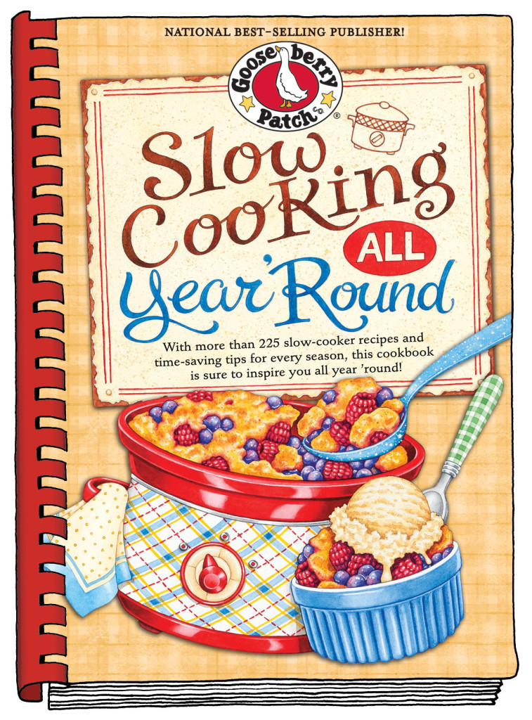 Gooseberry Patch - Slow Cooking Year 'Round cookbook cover