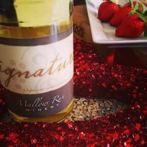 Signature Traminette Wine, from Mallow Run Winery