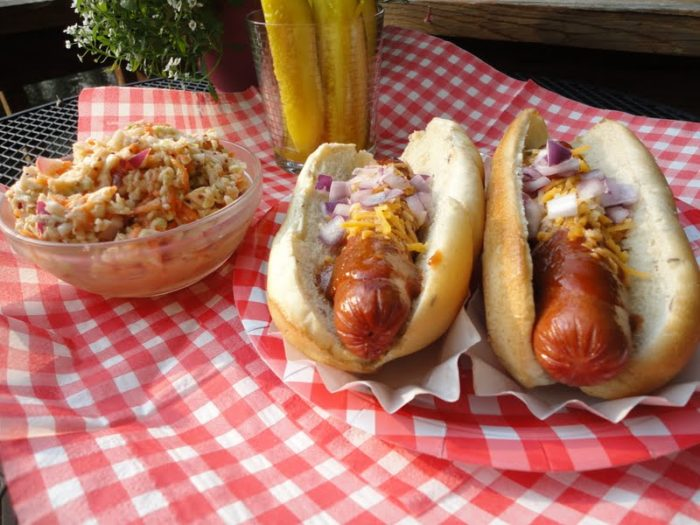 Backyard BBQ Recipes, including the best potato salad, Dr. Pepper barbecue sauce,, and tangy coleslaw