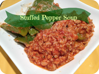 Stuffed Pepper Soup Recipe | Basilmomma.com