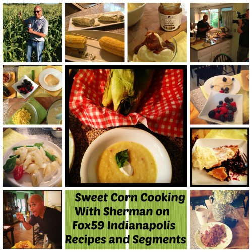sweet corn recipes collage