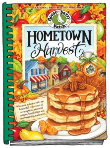 Gooseberry Patch Hometown Harvest Cookbook Cover