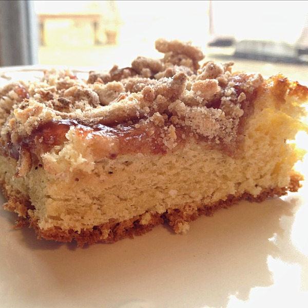Strawberry Coffee Cake - Recipe from basilmomma.com